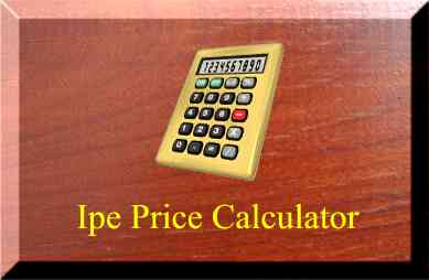 Discount Ipe price calculator